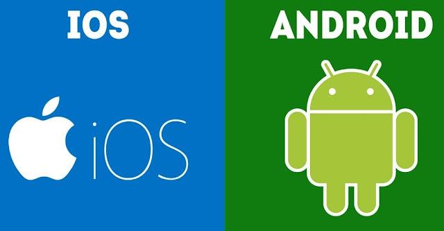 beda pendingin hp iphone dan android