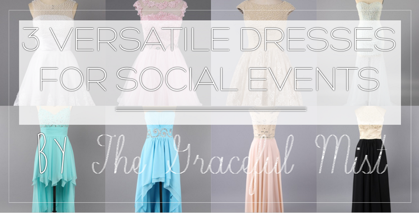 3 Versatile Dresses for Social Events - Blog Post @TheGracefulMist www.TheGracefulMist.com Cooperation with Landybridal.co.uk. Top Beauty, Books, Fashion, Lifestyle and Travel Blog Website in Manila Philippines