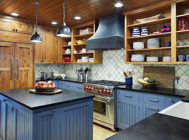 Rustik Mutfak Tasarimlari