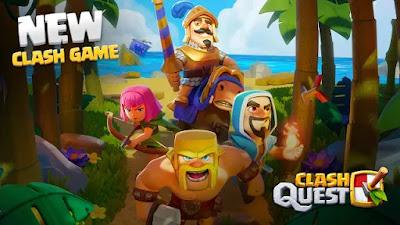Novo game Mobile Clash Quest - apk download