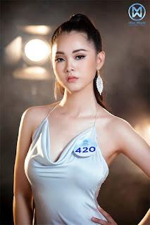 Hoa khôi đại học thi Hoa hậu Việt Nam 2020