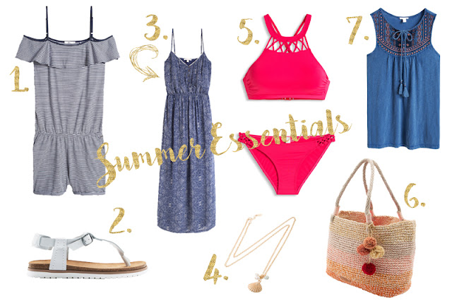 SUMMER ESSENTIALS FROM ESPRIT