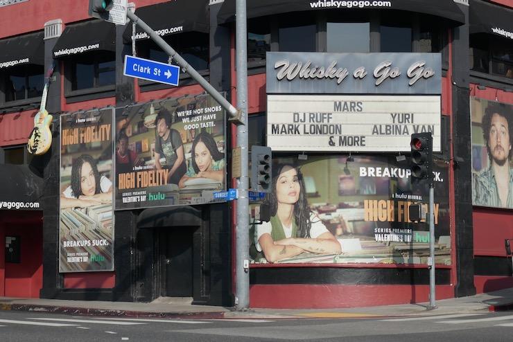 High Fidelity series premiere billboards