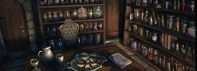 L'ufficio di Piton (Capitolo 5, Momento 3)