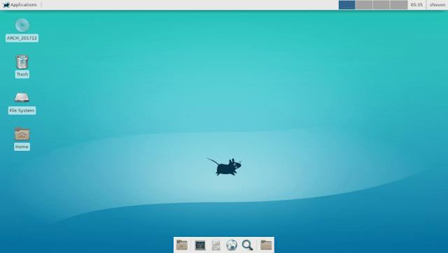 Jenis Desktop Environment Linux Teringan Sampai Terbagus XFCE