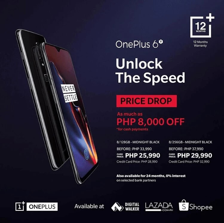 OnePlus 6T Price Drop Announced