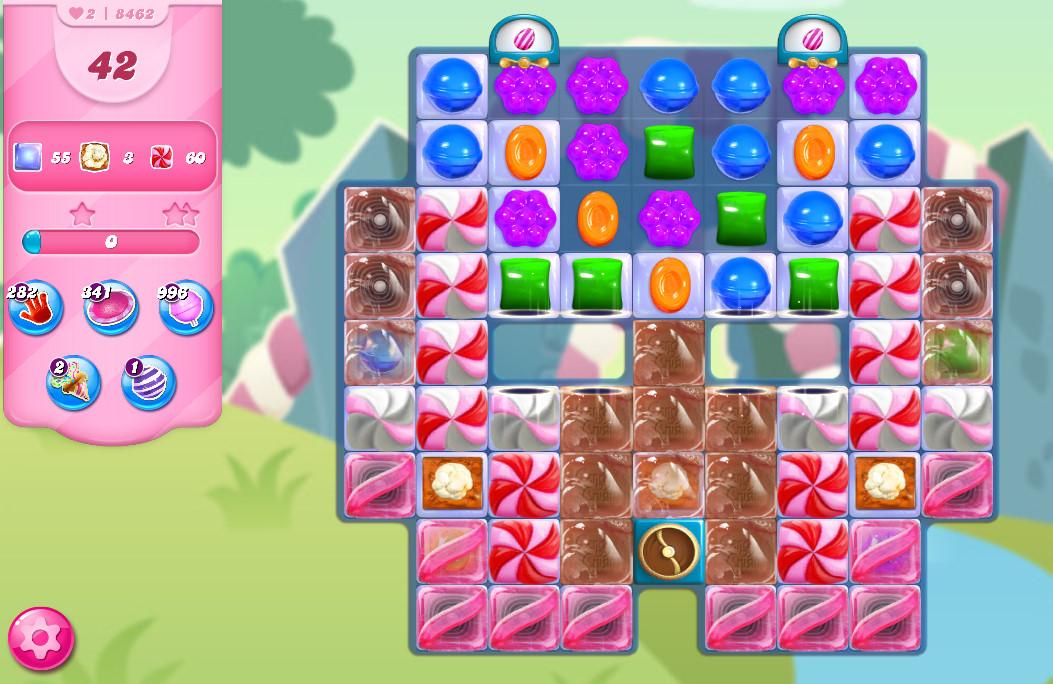 Candy Crush Saga level 8462