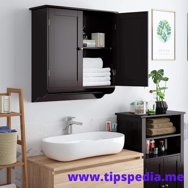 homfa bathroom wall cabinet