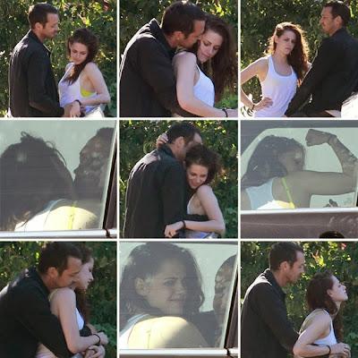 Kristen Stewart cheating on Robert Pattinson