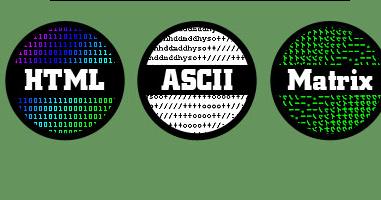 Generator online ascii ASCII to