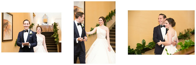 First Look with Groom Photos _ Memorial Area Weddings in Houston _ Lawrence Elizabeth Knox Photographer