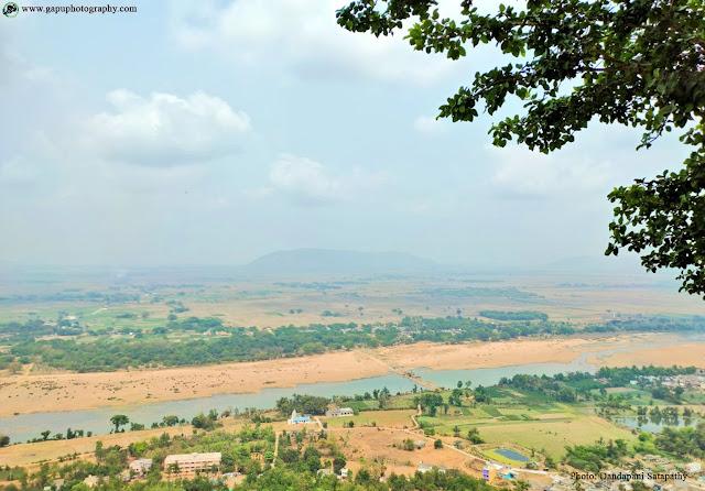 Rushikulya River from Taratarini Temple