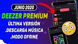 DESCARGA GRATIS DEEZER PREMIUM ULTIMA VERSIÓN TOTALMENTE FULL PREMIUM / JUNIO 2020