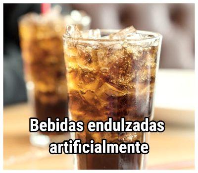 Las bebidas endulzadas artificialmente son malas para el corazón