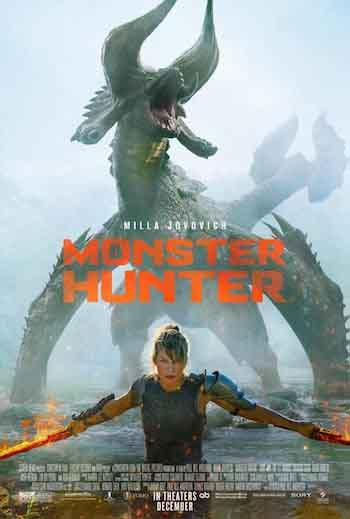Monster Hunter 2020 720p 850MB WEB-DL Dual Audio
