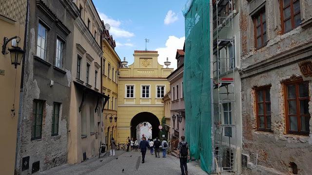 La puerta Grodzka lublin