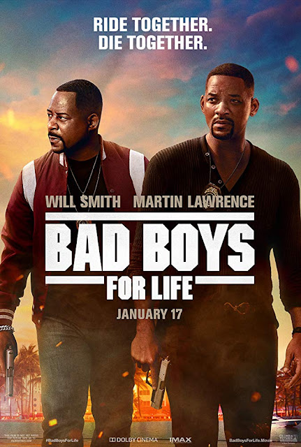 "Photo: Movie poster for ""Bad Boys for Life"" (2020), starring Will Smith, Martin Lawrence, Kate del Castillo, and Vanessa Hudgens"