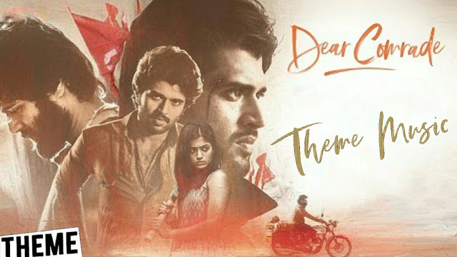 Dear Comrade Bgm - original Background Theme Music | Justin Prabhakaran