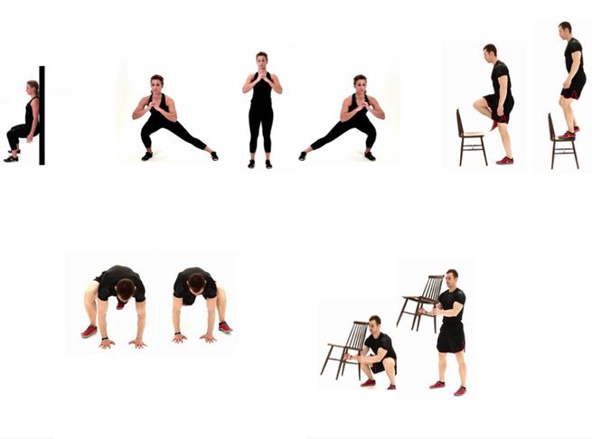 Vida saludable rutina de ejercicios en casa - Rutinas para casa ...