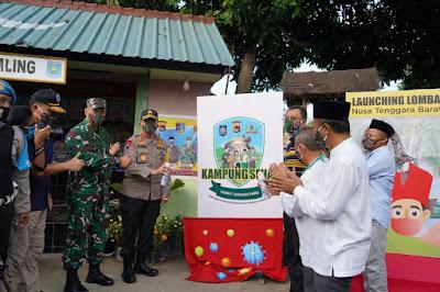 Launching Lomba Kampung Sehat