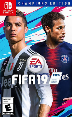 Fifa 19 Game Cover Nintendo Switch Champions Edition