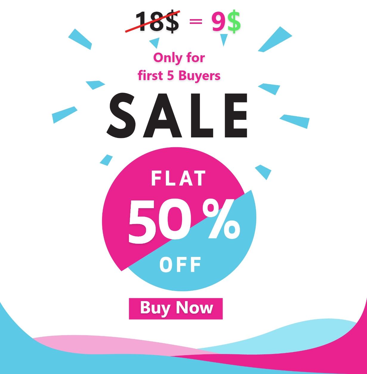 50% offer