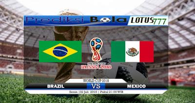 Prediksi Brasil Vs Meksiko 2 Juli 2018