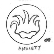 Anxiety Icon Drawing