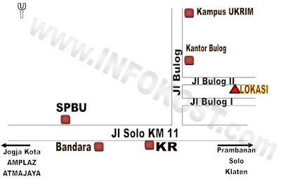 peta lokasi rumah joglo