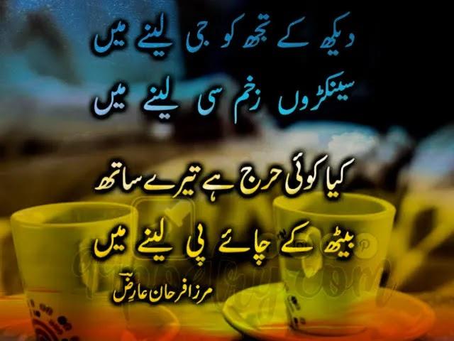 Chia Poetry - Best Urdu Mirza Farhan Ariz Shayari