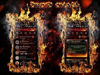BBM MOD Droid Chat! v3.1.0.13 Legend Of Fire Apk mod Terbaru 2016