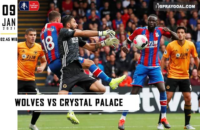 Prediksi Skor Wolves Vs Crystal Palace Sabtu 09 Januari 2021