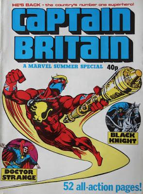 Captain Britain Summer Special 1980