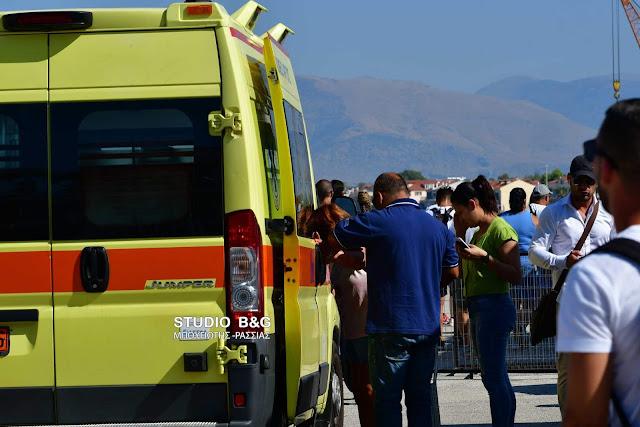 Ναύπλιο: Τραυματισμός επιβάτη κρουαζιερόπλοιου - Διεκομίσθη στο νοσοκομείο (βίντεο)
