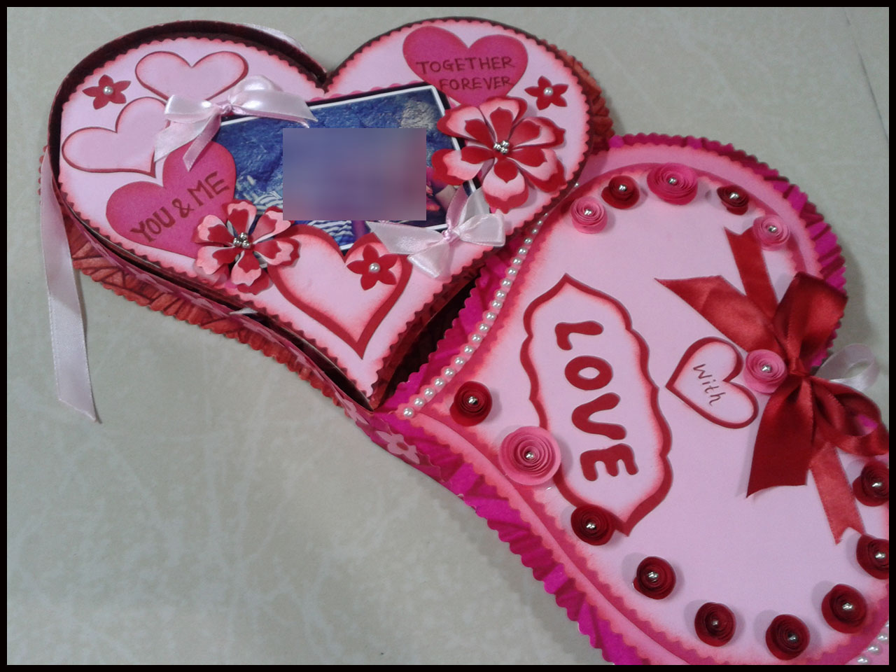 Heart Shaped Cards Design