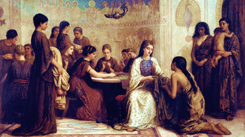 imagem-Edwin_Long_-_A_Dorcas_meeting_in_the_6th_century_-_Google_Art_Project-000-1000