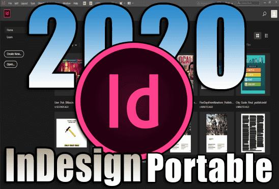 تحميل برنامج Adobe InDesign 2020 v15.1.1.103 Portable نسخة محمولة مفعلة