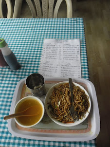 """Chowmein Lunch"" at Nimo village."
