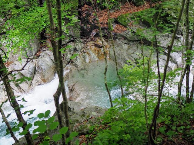 西沢渓谷 ウナギの床