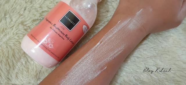Semakin Peduli Kulit - Scarlett Whitening Body Scrub, Shower Scrub & Body Lotion - Body Lotion Jolly 04