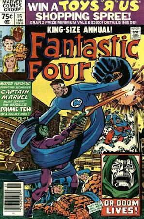 Fantastic Four Annual #15, Dr Doom