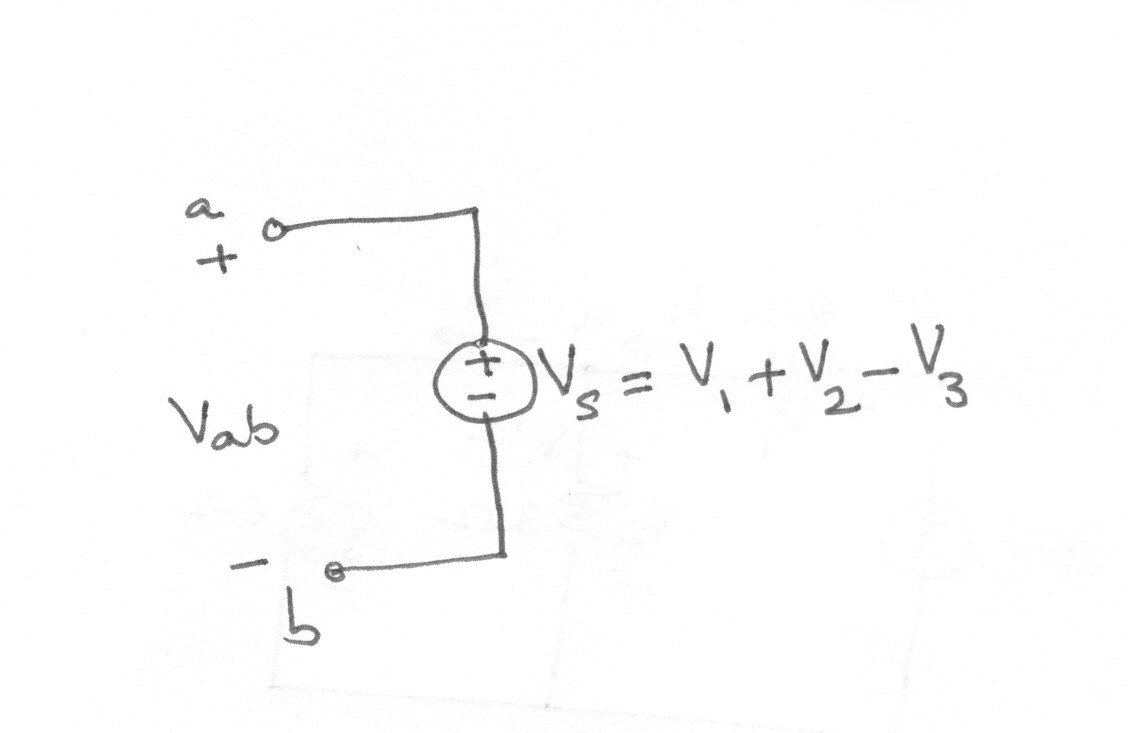 Kcl And Kvl Explained With Solved Numericals In Detail Engineers Hub Example Of Series Circuit Apply Loop The Following Find Out Vab