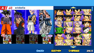 DRAGON BALL THE GOD OF DESTRUCITOION PPSSPP ISO DBZ TTT