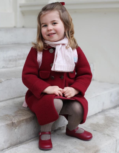 Kensington Palace shares adorable photos of Princess Charlotte taken before she left for her first day of school