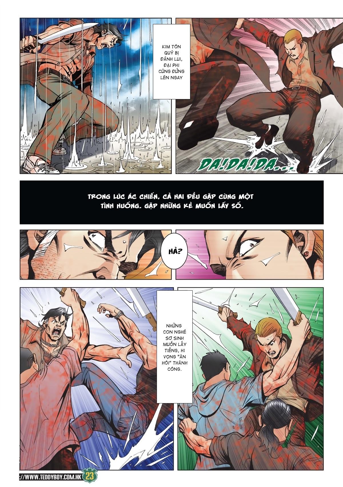 Người Trong Giang Hồ chapter 2033: kim tôn quý vs đại phi trang 20