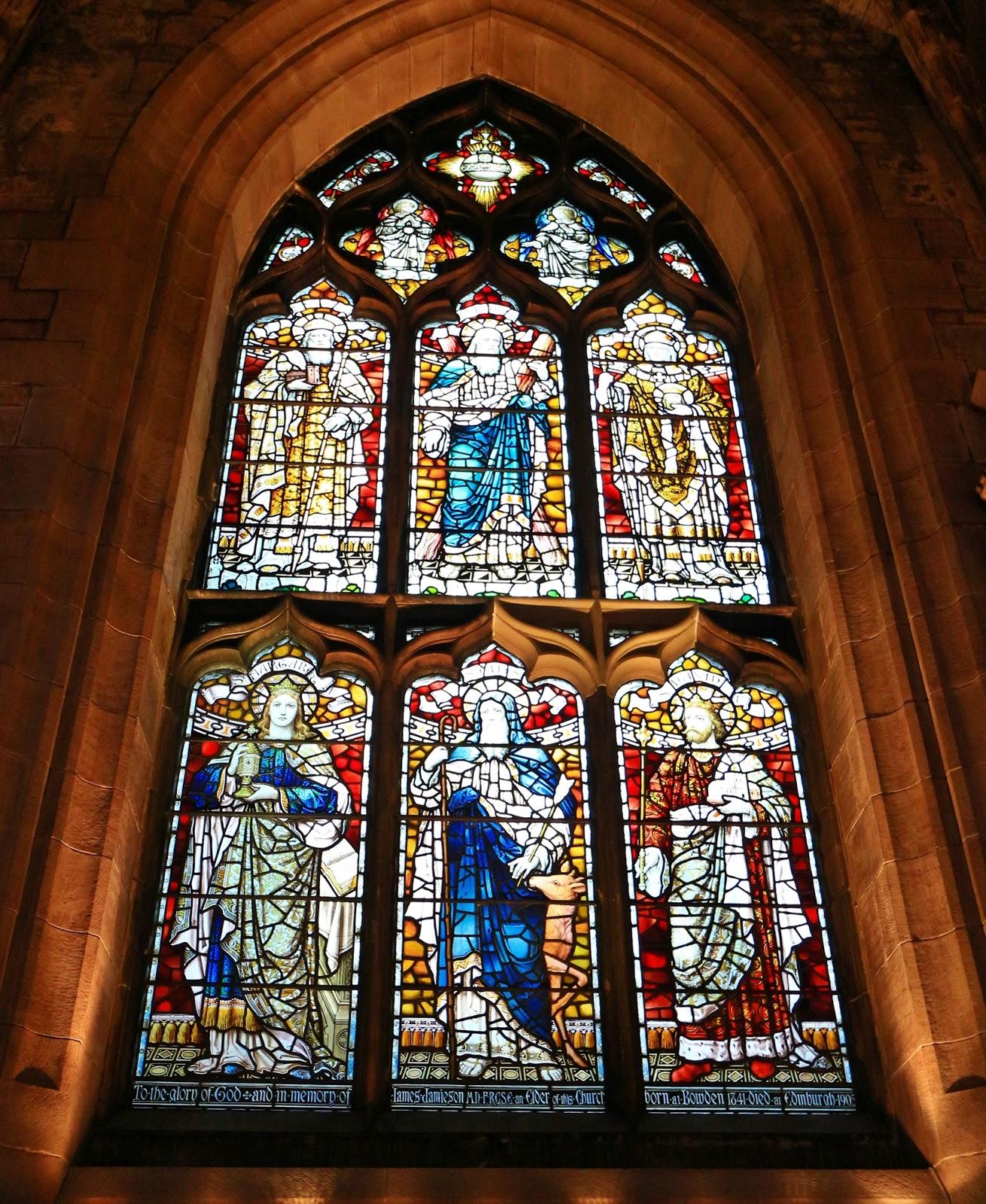 阿堡的世界: 愛丁堡聖吉爾斯大教堂,充滿神聖氛圍的聖地