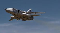 Máy bay Su-24 của Lực lượng Hàng không Vũ trụ Nga bị rơi gần Perm