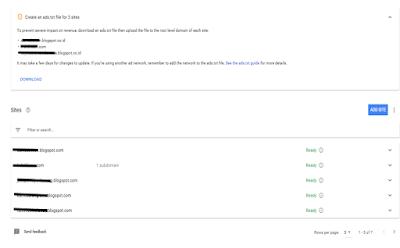 Cara menghilangkan info pembaharuan ads.txt pada google adsense