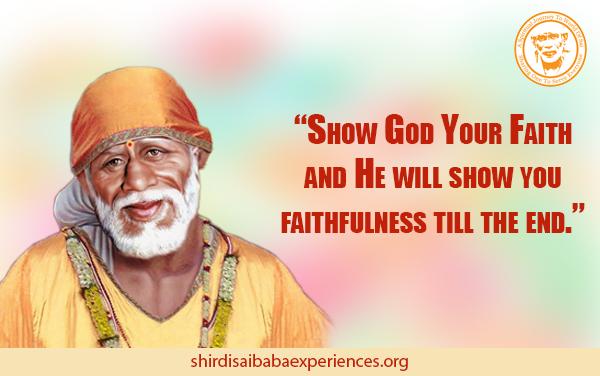 Sai Baba Saved Me From Panic Attack