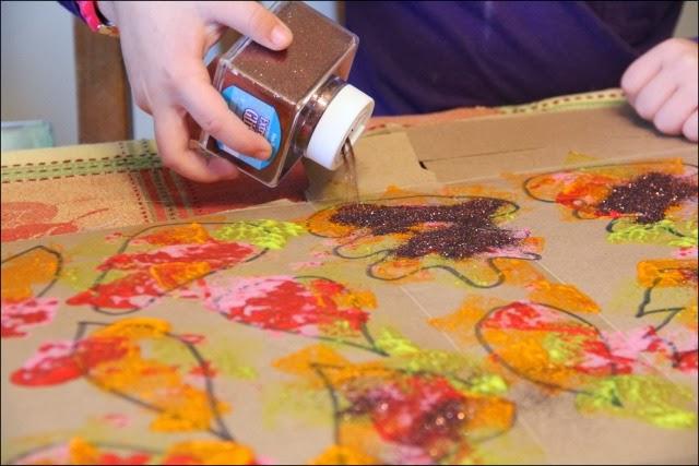 Thanksgiving Crafts For Kids Easy Garland Craft